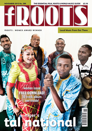 Tal National on fRoots Cover Nov 2015